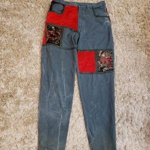 Vintage Zip Code Jeans